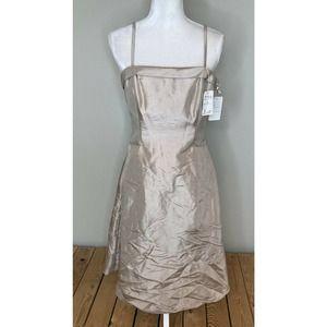 NWT $128 Vintage DAVINCI Mini Strap Dress Size 10
